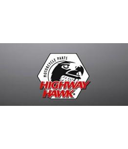 Światło DEVILS EYE rozmiar S z bursztynowymi soczewkami. Producent: Highway Hawk.