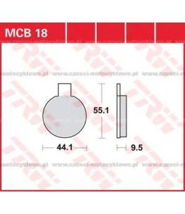 Klocki hamulcowe TRW MCB18