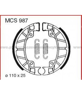 Szczęki hamulcowe TRW MCS 987
