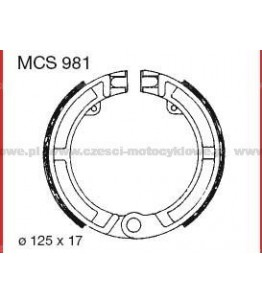 Szczęki hamulcowe TRW MCS 981