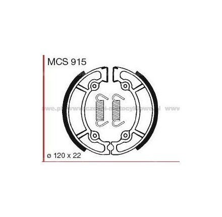 Szczęki hamulcowe TRW MCS 915