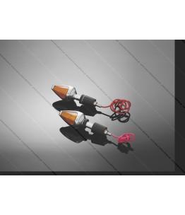 Kierunkowskaz DIAMOND mocowane na kierownicy HIGHWAY HAWK, 2 sztuki, posiada homologację EU. Producent: Highway Hawk.
