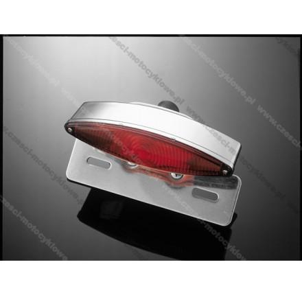 Światło TECH GLIDE, rozmiar L, aluminiowe uchwyty, posiada homologację EU. Producent: Highway Hawk.