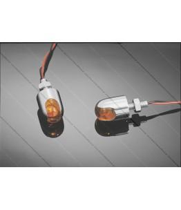 POWER CAP LED, bursztynowa soczewka, 12V, zestaw 2 sztuk. Producent: Highway Hawk.