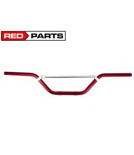 Kierownica aluminiowa CROSS - czerwona