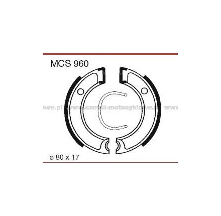 Szczęki hamulcowe TRW MCS 960