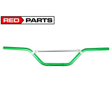 Kierownica aluminiowa CROSS - zielona