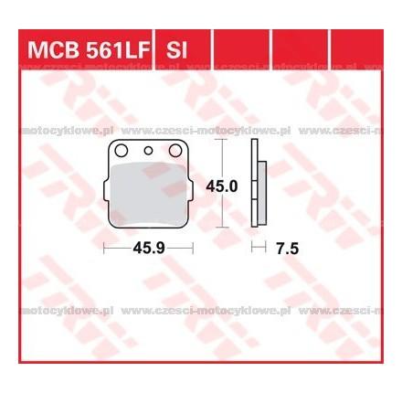 Klocki hamulcowe TRW MCB561