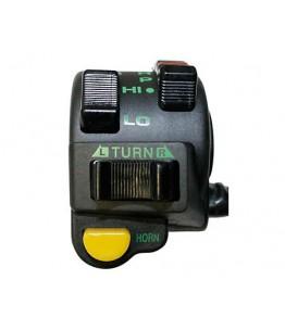 Przełącznik do zamontowania przy kierownicy MTX 80, lewy