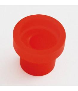 Pokrywka ochronna gumowa na przycisk świateł awaryjnych 240-008, czerwona