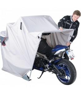 Garaż motocyklowy z materiału rozm. S