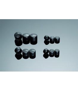 POKRYWY NA ŚRUBY sześciokątne czarne ŚRUBA M5 (W 8 MM)