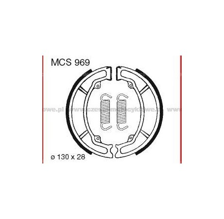 Szczęki hamulcowe TRW MCS 969