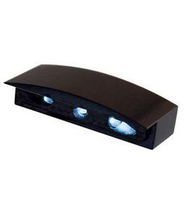 Oświetlenie tablicy rejestracyjnej ALU MICROi-LED kolor czarny E-homologacja
