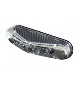 Światło tylne LED z gładką soczewką