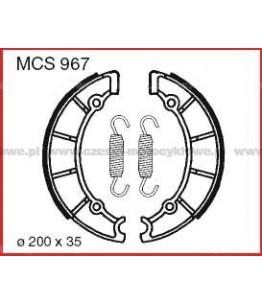 Szczęki hamulcowe TRW MCS 967