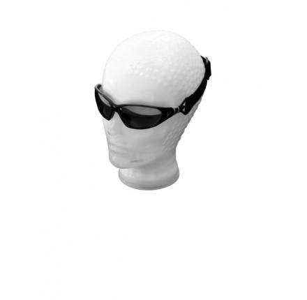 Okulary przeciwsłoneczne motocyklowe, transparentna ramka. Producent: Highway Hawk.