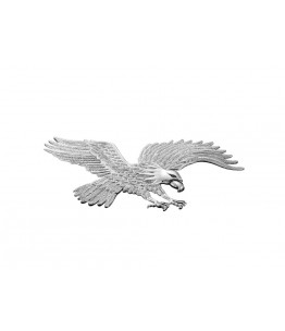 Emblemat EAGLE, chrom, duży. Producent: Highway Hawk.