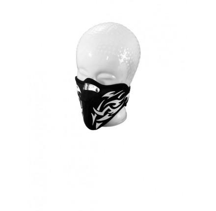 Maska motocyklowa 'H-PRINT', z aluminiowym zaciskiem. Producent: Highway Hawk.