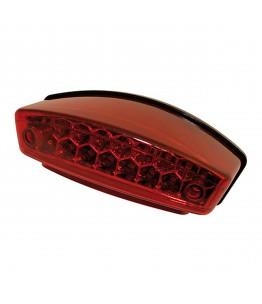 Światło tylne LED MONSTER z czerwoną soczewką