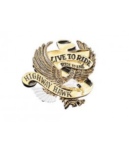 "Emblemat ""LIVE TO RIDE"" HIGHWAY HAWK mały. Producent: Highway Hawk."