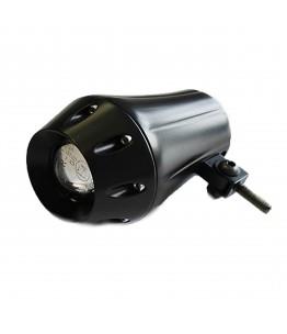 Reflektor przedni, mijania, czarny