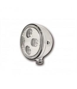 """Reflektor LED przedni 5 3/4"""" Chrom ze światłem postojowym"""