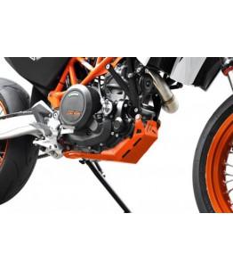 Osłona silnika KTM 690 Enduro SMC / R 08- Pomarańczowy