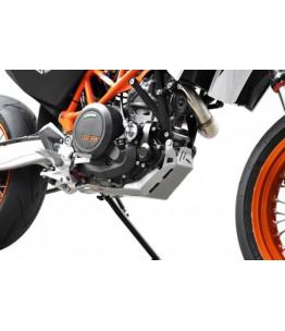 Osłona silnika KTM 690 Enduro SMC / R 08- srebrna