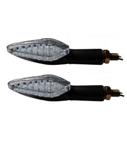 Kierunkowskazy motocyklowe BOSS LED długie