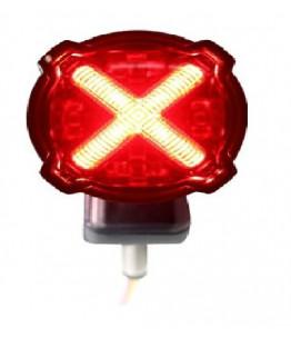 Światło tył LED pozycja + stop GT-02 czerwone