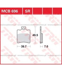 Klocki hamulcowe TRW MCB696