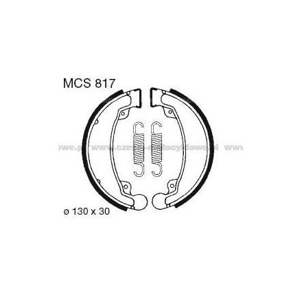 Szczęki hamulcowe TRW MCS 817