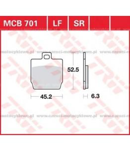 Klocki hamulcowe TRW MCB701