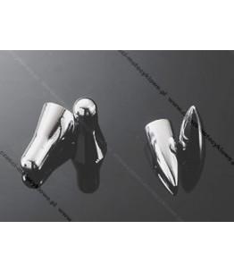 "Zestaw chromowanych nakrętek na wentyl DV 18/19"". Producent: Highway Hawk."