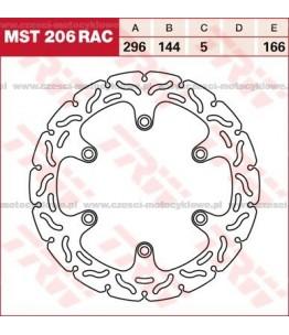 Tarcza hamulcowa TRW, sztywna, tuningowa RAC kod: MST 206 RAC