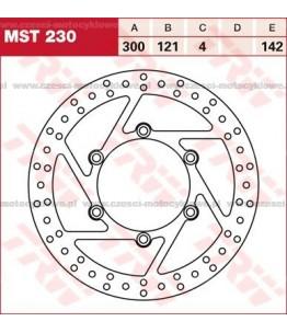 Tarcza hamulcowa TRW, sztywna kod: MST 230