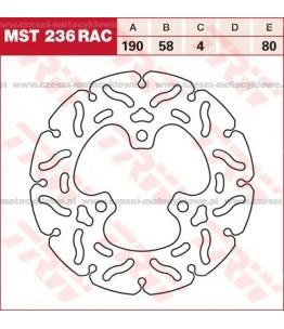 Tarcza hamulcowa TRW, sztywna, tuningowa RAC kod: MST 236 RAC