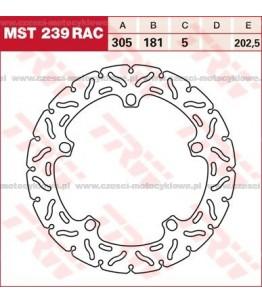 Tarcza hamulcowa TRW, sztywna, tuningowa RAC kod: MST 239 RAC