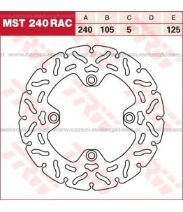Tarcza hamulcowa TRW, sztywna, tuningowa RAC kod: MST 240 RAC