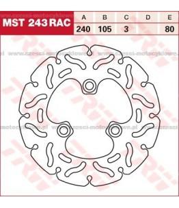 Tarcza hamulcowa TRW, sztywna, tuningowa RAC kod: MST 243 RAC