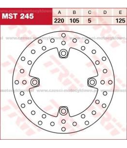 Tarcza hamulcowa TRW, sztywna kod: MST 245