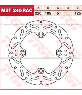 Tarcza hamulcowa TRW, sztywna, tuningowa RAC kod: MST 245 RAC
