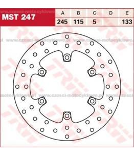 Tarcza hamulcowa TRW, sztywna kod: MST 247