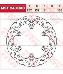 Tarcza hamulcowa TRW, sztywna, tuningowa RAC kod: MST 248 RAC