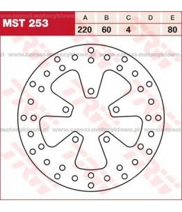 Tarcza hamulcowa TRW, sztywna kod: MST 253