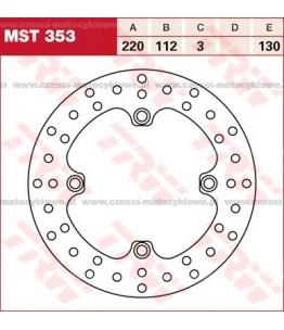 Tarcza hamulcowa TRW, sztywna kod: MST 353
