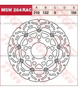 Tarcza hamulcowa TRW, pływająca, tuningowa RAC kod: MSW 264 RAC