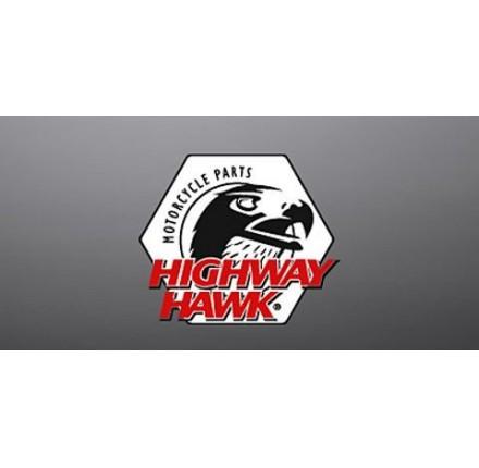 Uchwyty mocujące bagażnika SOLO do XVS 650. Producent: Highway Hawk.