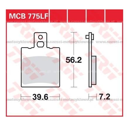 Klocki hamulcowe TRW MCB775